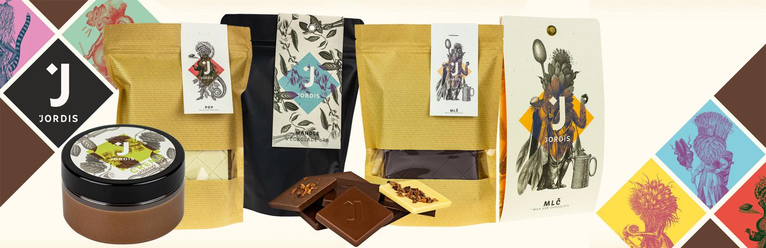 Čokoláda Jordis