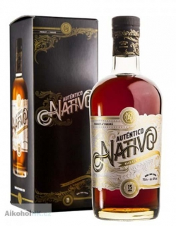 Nativo Autentico 15 let + krabička 0,7 l