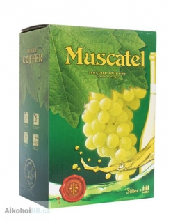Muscatel Muscat bag in box 3 l