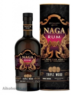 Naga Triple Wood Cask Aged 0,7 l
