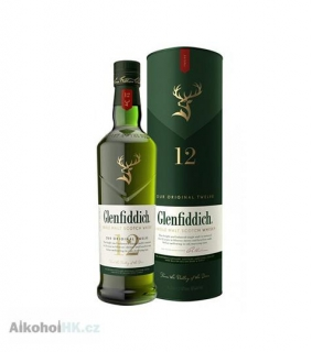 Glenfiddich 12 let 0,7 l