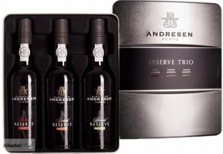 J. H. Andresen Reserve Trio Port 3x375 ml